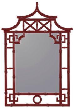 Red Mirror- Cooper Classics