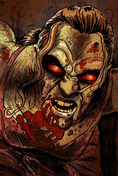 Zombie girl by mygrimmbrother on DeviantArt___©__! Zombie Girl, Horror Art, Modern Art, Marvel, Deviantart, Comics, Walking Dead, Fictional Characters, Movie Posters