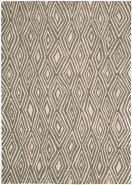 Created from all natural wool fibers in hues of soft beige through charcoal gray, these area rugs combine influences of abstract and all-over patterns. Handmade using the cut and loop pile technique creates a matte surface texture that is authentic to Calvin Klein Home.