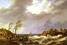 Johannes Hermanus Koekkoek, Dutch Fishing Vessel Caught