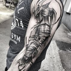 Black tattoo art