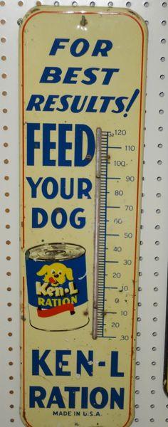 Vintage Ken L Ration Thermometer