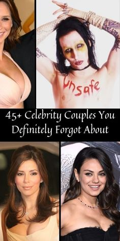 Celebrities meet at Oscar parties, fall in love on movie sets, share the same agents and PR firms, so it's only natural that they often tend to date each other. #45+ #Celebrity #Couples