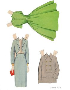 Teen Time paper dolls 1950's #8 / Ebay Paper Puppets, Paper Toys, Paper Crafts, Paper Doll Template, Paper Dolls Printable, Doll Clothes Patterns, Clothing Patterns, Vintage Paper Dolls, Miniture Things