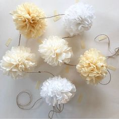 Ivory Wedding Decor, Wedding Decorations, Easy Youtube, Jute Twine, Bridal Shower, Baby Shower, Cream White, Color Pop, Garland