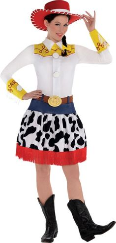 Adult Jessie Costume Deluxe - Toy Story - Party City