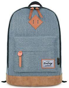 EcoCity Classic Vintage College School Laptop Backpack Bag Pack Super Cute for School (Blue) EcoCity http://www.amazon.com/dp/B00JAEH4YC/ref=cm_sw_r_pi_dp_Sps2vb0DEGQ4K