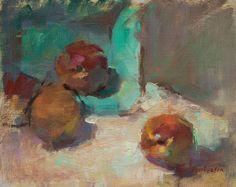 Ingrid Christensen - A Painter's Progress: A variety of whites - #painting #oil #oilpaintin #art