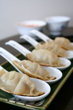 Japanese pot stickers 1/31/13 WOOHOO this a super hit in the house very yummy and makes plenty...make sure you have enough time to put it all together it takes a bit but after that sooo easy and yummy
