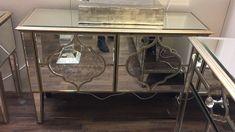 Sahara Gold Mirrored 2 Door Cabinet - Lavish mirrored 2 door cabinet with beautiful gold trim and striking marbled mirror intricate design. #MirroredFurniture #PicturePerfectHome #DesignerFurniture #Sparkle #Glam #GlassFurniture #InteriorDesign #HomeDecor #HomeDesign #Furniture #MirroredGoldBedroomFurniture #MirroredBedroom #GlassBedroomFurniture #MirroredBedroomFurniture #MirroredChestOfDrawers #AthensMirroredFurniture #GlassChestOfDrawers #MirroredChest #MirroredCabinet