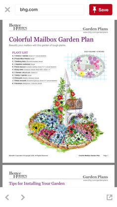 Read these 15 easy gardening tips and hacks so that you can have a garden that is lush with produce. Gardening is fun when you know how to do it right! Mailbox Garden, Mailbox Landscaping, Garden Landscaping, Landscaping Ideas, Perennial Garden Plans, Flower Garden Plans, Easy Garden, Lawn And Garden, Garden Projects