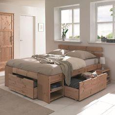 Le lit à rangements astucieux