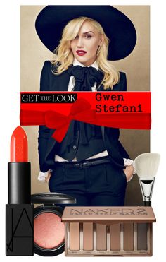 """""""Get the Beauty Look: Gwen Stefani"""" by bklana ❤ liked on Polyvore featuring beauty, Yves Saint Laurent, MAC Cosmetics, NARS Cosmetics, Urban Decay and GetTheLook"""