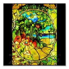 Poster-Stained Glass-Tiffany 3