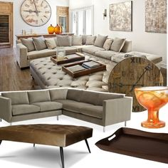 Project Décor tufting and velvet for fall