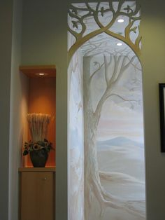 Special murals painted in Toronto and Woodbridge by Tibor of Artiside Murals