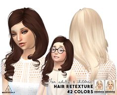 Miss Paraply: Maysims 39YC hairstyle retextured  - Sims 4 Hairs - http://sims4hairs.com/miss-paraply-maysims-39yc-hairstyle-retextured/