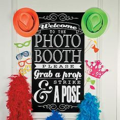 DIY Photo Booth, Photo Booth Backdrops, Photo Booth Supplies