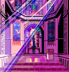 Vaporwave, aesthetics and Pixel Art, 8 Bit Art, 8 Bits, Vaporwave Art, V Instagram, Retro Futurism, Aesthetic Art, Purple Aesthetic, Oeuvre D'art