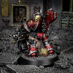 Warhammer Paint, Warhammer 40000, Chaos Legion, Warhammer 40k Miniatures, War Hammer, The Grim, Space Marine, Miniture Things, Bear