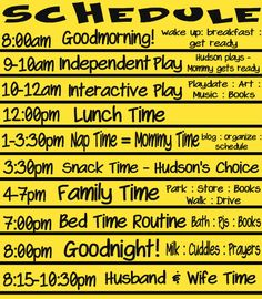 Toddler Schedule- now that the holidays are over I would like to be more intentional about our time and our schedule... good example to use