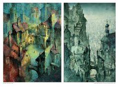 Pavel Čech, czech illustrator World, Painting, Illustrations, Art, Art Background, Painting Art, Illustration, Kunst, Paintings