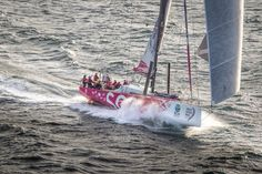 November 19, 2014. Start of Leg 2 from Cape Town to Abu Dhabi: Team SCA.. Ainhoa Sanchez/Volvo Ocean Race