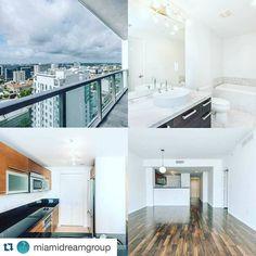 #Repost @miamidreamgroup with @repostapp.  EN VENTA| $299000|  1 dormitorio/ 1 baño | Apartamento situado en la torre Vizcayne de lujo situado en el corazón del centro de la ciudad. Disfrute de increíbles vistas de la puesta del sol sobre el horizonte de Miami. La unidad dispone de una espaciosa terraza privada techos de 9 pies con ventanales de piso a techo pisos de madera walk-in closets cocina con estilo europeo. Las comodidades de primera clase incluyen portero y personal de recepción 3…