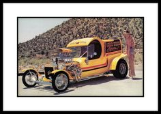 """Gold Rush Express"" Show Car, 1982 by Cosmo Lutz, via Flickr"