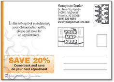 Nuts and Bolts Postcard   SmartPractice Chiropractic