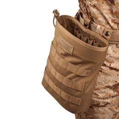 The Blackhawk Roll-Up MOLLE Dump Pouch also has internal elastic loops for light sticks, shotgun shells, etc. Blackhawk Tactical, Tactical Shotgun, Tactical Gear, Olives, Bug Out Gear, Molle Gear, Molle System, Molle Pouches, Metal Detector