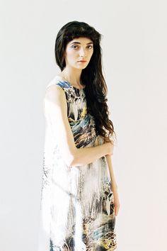 Lost Landscape dress by ApartofmeAPOM on Etsy, $200.00