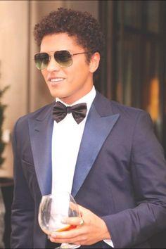 Bruno Mars looking classy
