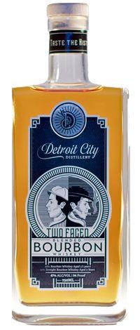 Detroit City Distillery Two-Faced Bourbon