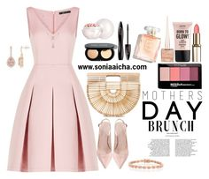 Happy Monther's Day by soniaaicha on Polyvore featuring polyvore, fashion, style, BCBGMAXAZRIA, Cult Gaia, Bling Jewelry, Guerlain, Bobbi Brown Cosmetics, Lancôme, Maybelline, NYX, Christian Louboutin and clothing