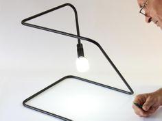 Linething Lamp by Dijana Adzemovic Andjelkovic and Vladimir Andjelkovic
