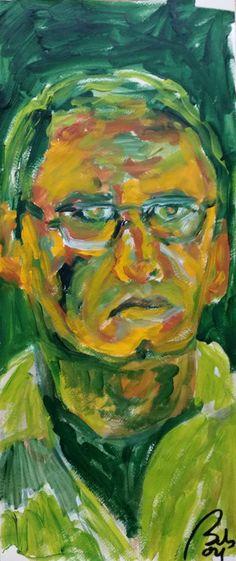 Bachmors selfportrait January 04 #self-portrait #self-portraitproject #bachmors @bachmors artist artist #artcollector #artcollective #emergingart #artwork #artcreation #capimans