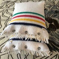 Hudson Bay Blanket, Bay Point, Camping Blanket, Gold Labels, Vintage Wool, Vintage Linen, Vintage Crafts, Krabi, Pattaya