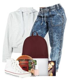 """UNCG"" by danimack03 ❤ liked on Polyvore featuring adidas, Herschel Supply Co., Converse and Essie"