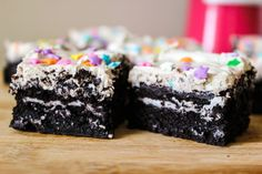 Oh my goodness!    Fudge Cookies n Cream oreo Brownies