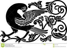 Ornamental Bird Royalty Free Stock Photos - Image: 20979088