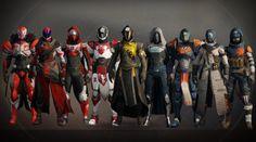 Here Are Destiny 2's Nine Beta Armor Sets