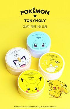 TonyMoly x POKEMON - Moisture Cream 2016 SEP
