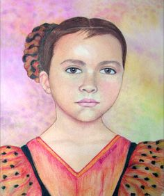 Paulina. Watercolour.