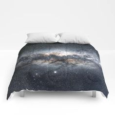 Milky Way Galaxy Stars Night Sky Comforters by infinitely | Society6