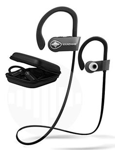 Wireless Bluetooth Running Headphones - SoundWhiz Noise C... be quick to  get it d8dbf9e461