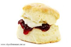 This Lemonade Scones recipe makes super light scones, lovely for morning or afternoon tea…or anytime really  Ingredients - just three: 325g self raising flour 170ml (2/3 cup) cold lemonade 170ml (2/3 cup) thickened cream