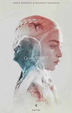 Daenerys and Jorah Mormont - Game of thrones