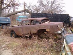 55 Chevy gasser..
