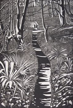 Buy The Way Through the Woods, Etching / Engraving by Kit Boyd on Artfinder. Discover thousands of other original paintings, prints, sculptures and photography from independent artists. Painting Prints, Art Prints, Etching Prints, Scratchboard, Wood Engraving, Stone Painting, Art Techniques, Printmaking, Landscape Paintings